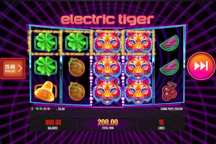 No Deposit Casino Guide - stacked wild triggers multiple winning combinations