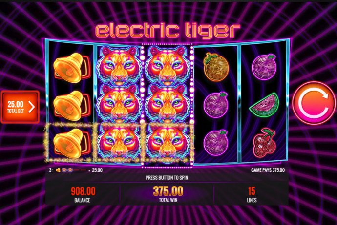 Electric Tiger by No Deposit Casino Guide