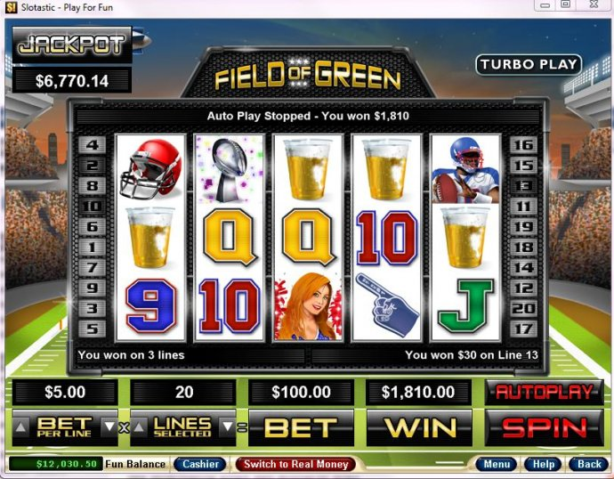Field of Green by No Deposit Casino Guide