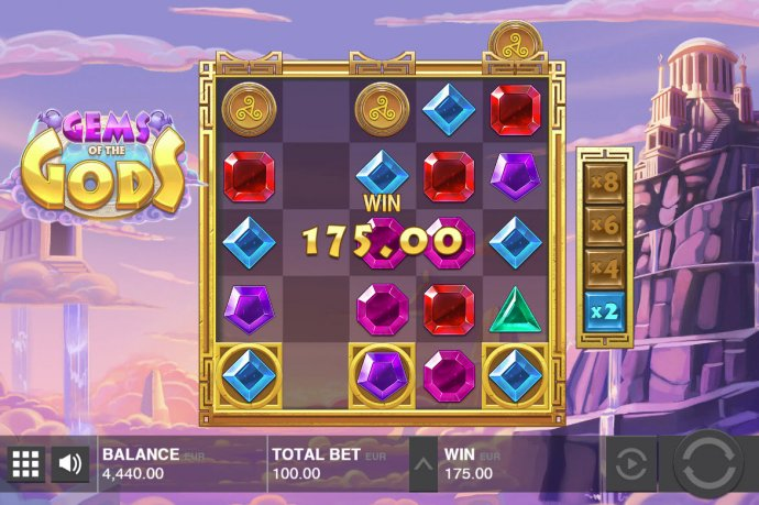 Gems of the Gods by No Deposit Casino Guide