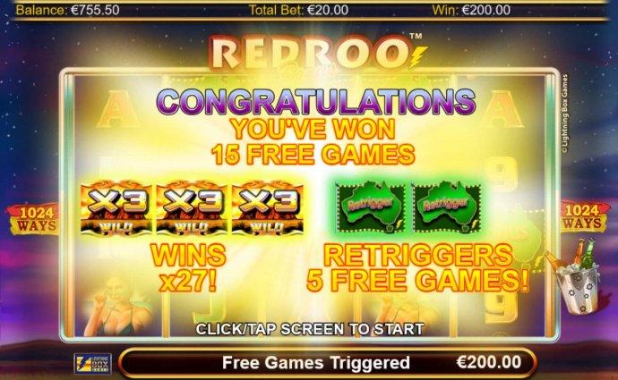 Redroo screenshot