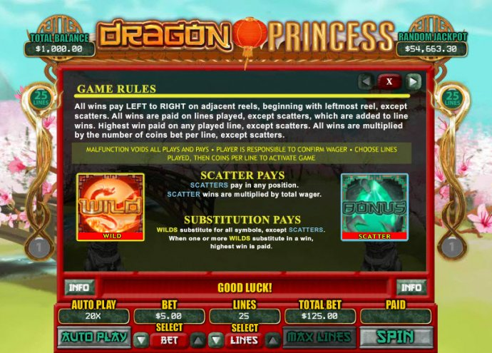 Dragon Princess by No Deposit Casino Guide