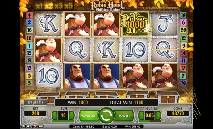 Robin Hood - Shifting Riches by No Deposit Casino Guide