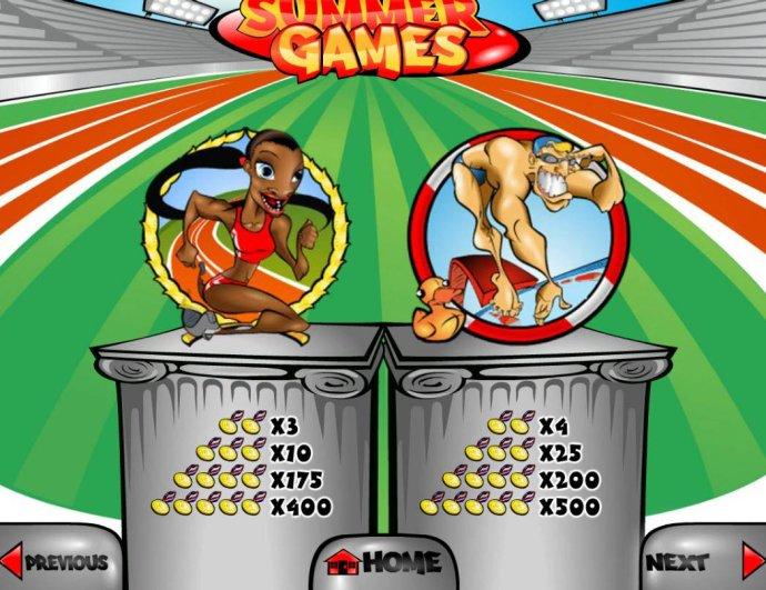 Summer Games screenshot