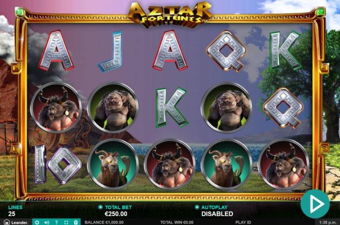 Aztar Fortunes screenshot