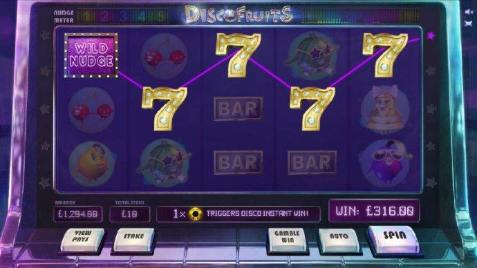 Disco Fruits screenshot