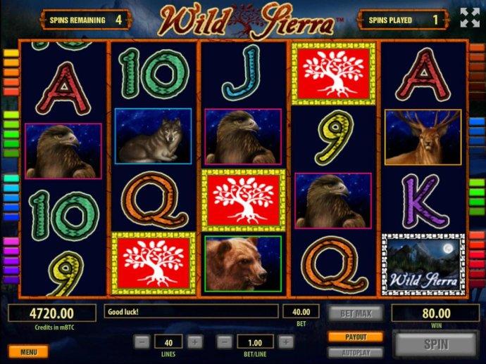No Deposit Casino Guide image of Wild Sierra