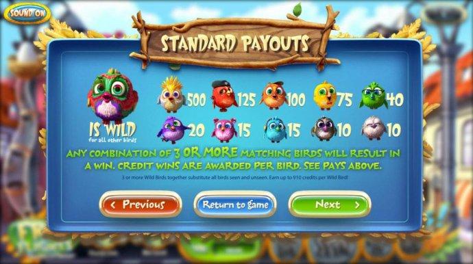 Birds! by No Deposit Casino Guide
