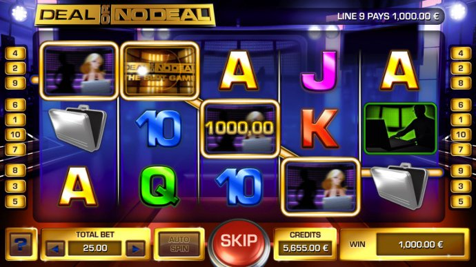 Deal or No Deal by No Deposit Casino Guide