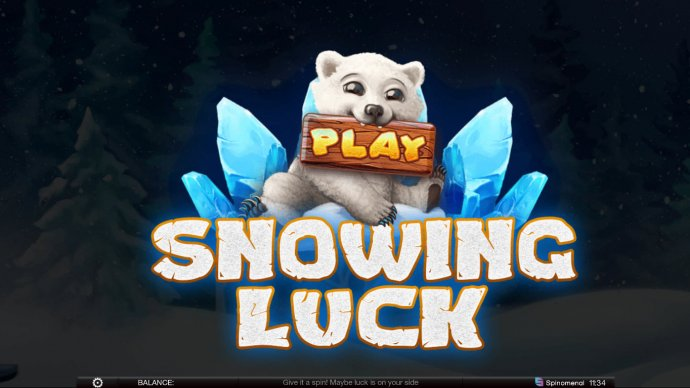 No Deposit Casino Guide image of Snowing Luck