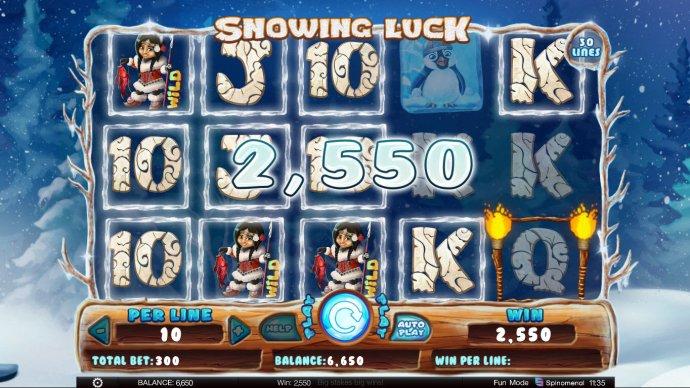 Snowing Luck screenshot