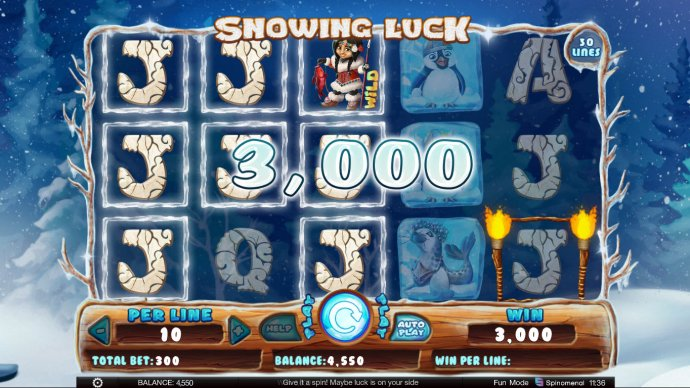 Images of Snowing Luck