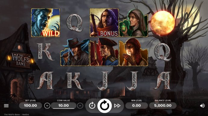 The Wolf's Bane by No Deposit Casino Guide