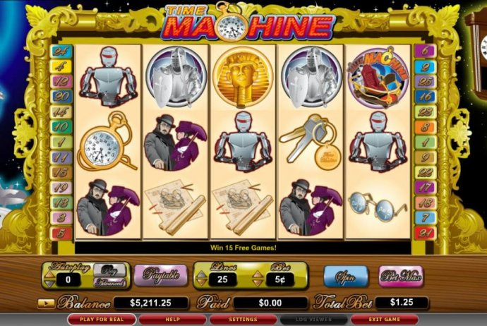 Time Machine by No Deposit Casino Guide