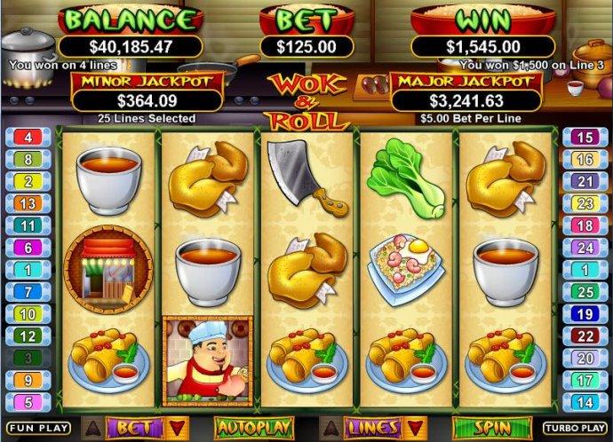 Wok & Roll by No Deposit Casino Guide